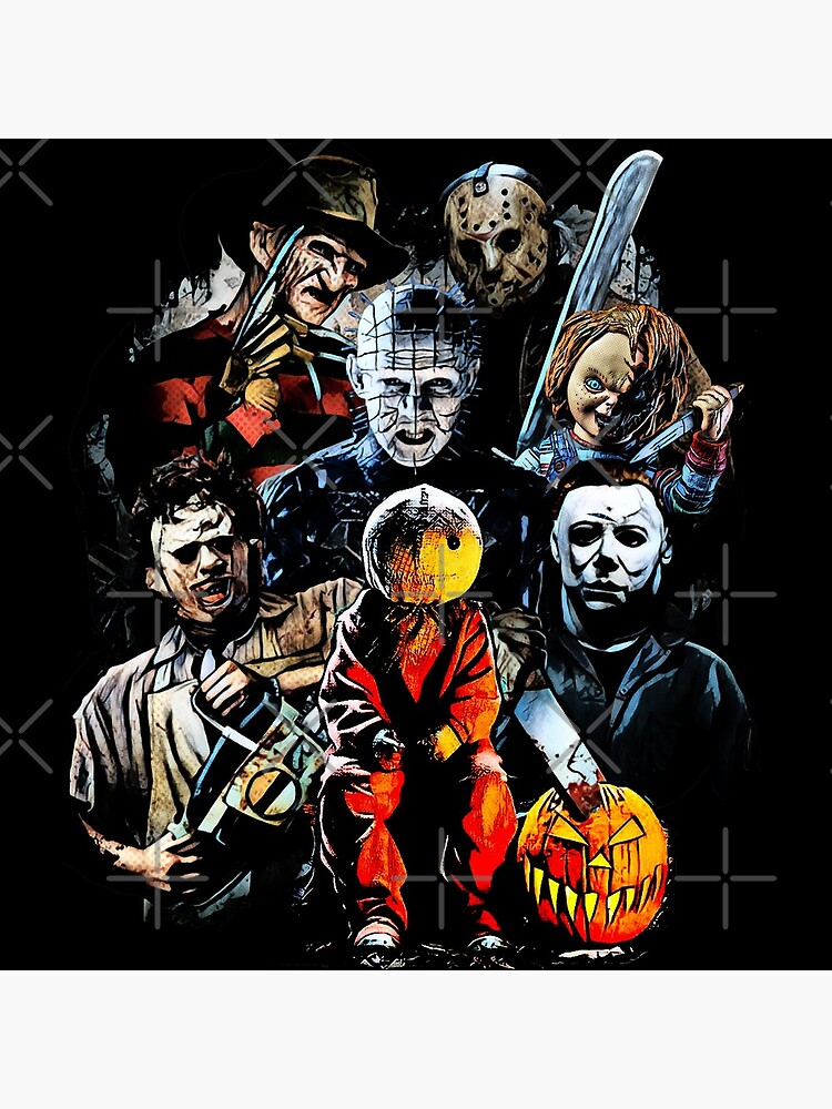 Horror movie characters by JTK667