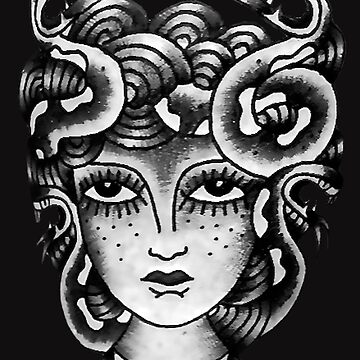 The Girl Is A Medusa by VictorIos