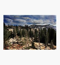 Cloudy Ridge Photographic Print