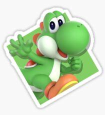 Smash Bros. Ultimate Yoshi Diamond Icon Sticker