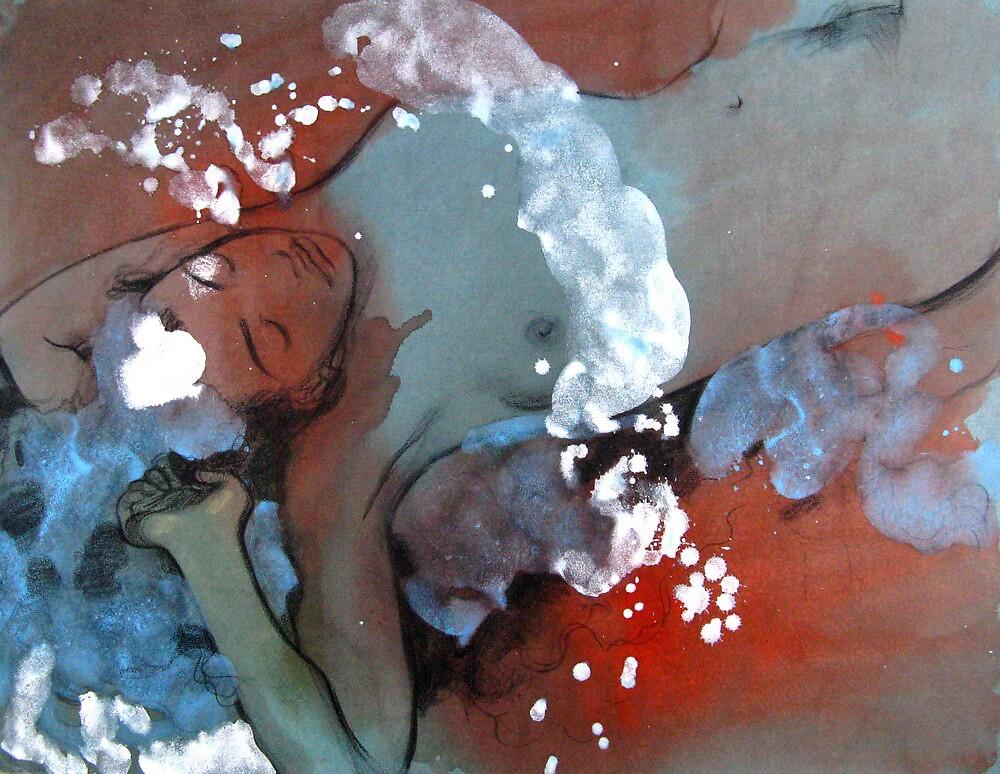 Dissolution in dream by Svetlana Tiourina