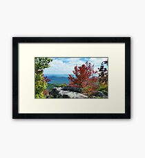McAfee's Knob View Framed Print