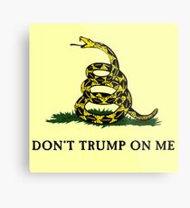Don't Trump On Me (classic) Metal Print