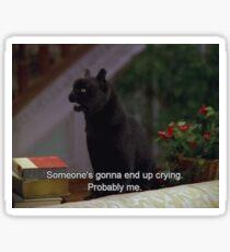 Crying Salem Sticker