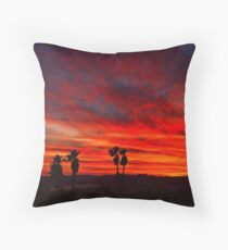 Vibrant Sky Throw Pillow