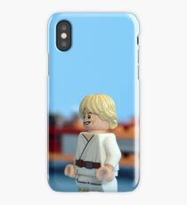 Old Ben and Luke iPhone Case/Skin