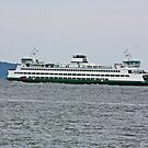 ferry Puyallup by Rhonda R Clements