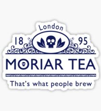 MoriarTea 2 Blue Ed. Sticker