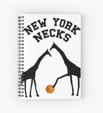 New York Necks Spiral Notebook