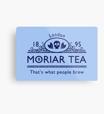 MoriarTea 2 Blue Ed. Metal Print