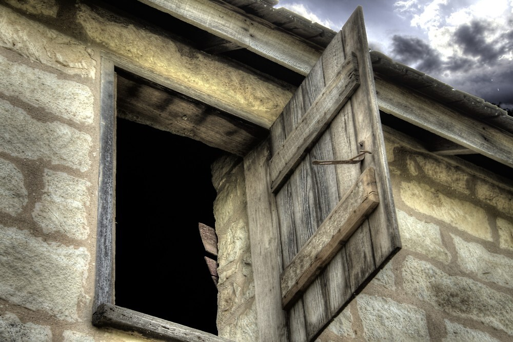 Barn Window by Terence Russell