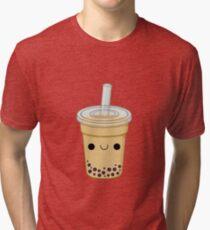 Cute Bubble Tea Tri-blend T-Shirt