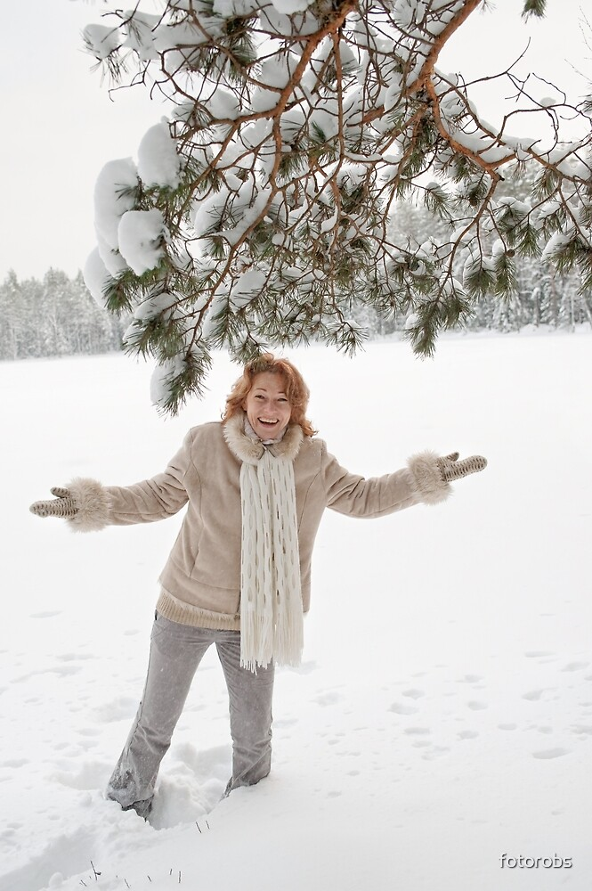 Winters joy by fotorobs