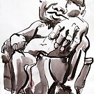 Man in Chair by Mark Ramstead