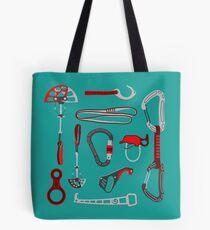 Climbing Equipment Design Tote Bag