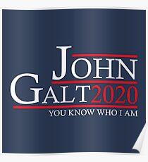 John Galt 2020 Poster