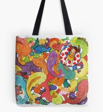 Fish School  Tote Bag
