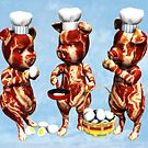 Bacon and Eggs by 2HivelysArt