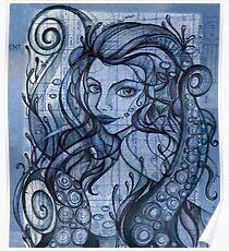 Octopian Girl Poster