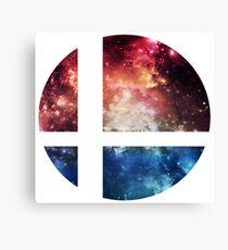 Super Space Bros. || SSB logo Canvas Print