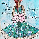 Flowers, always by Bluewoodsdesign