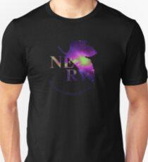 Camiseta unisex Space Genesis Evangelion 01 || Nerv Logotipo
