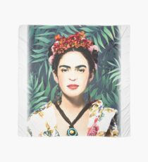 Frida Kahlo, watercolor, Frida, Frida Kahlo painting, botanical, tropical Scarf
