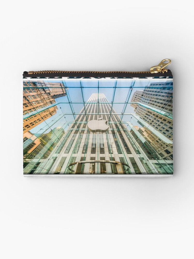 Big Apple in the Big Apple (poster on white) by Ray Warren