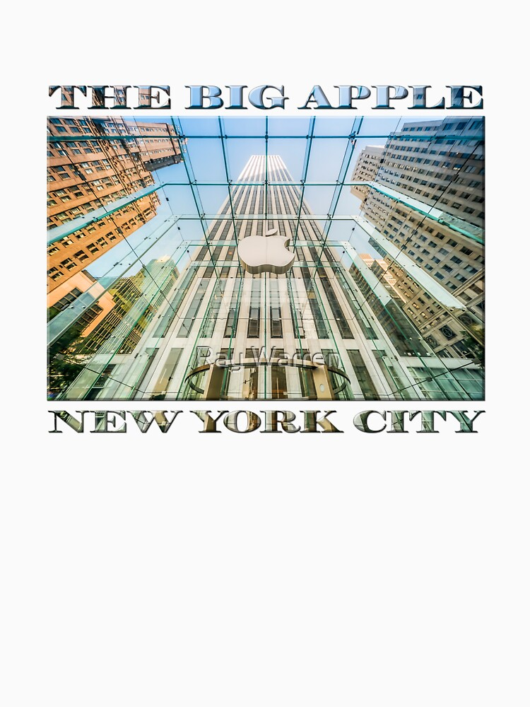 Big Apple in the Big Apple (poster on white) by RayW