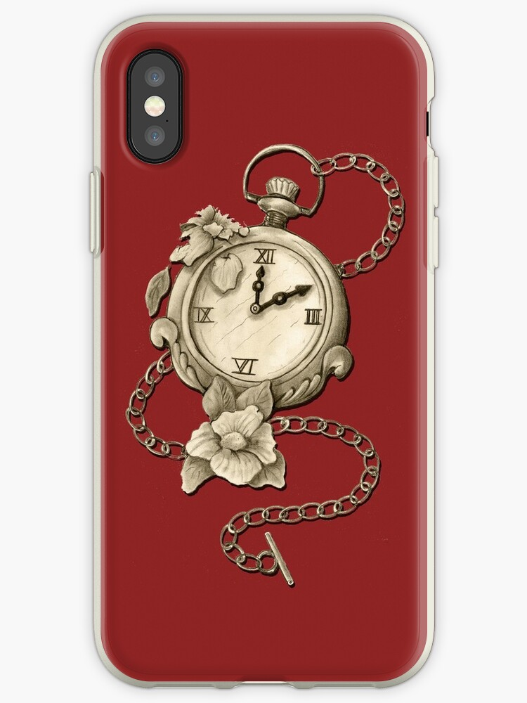 Pocket Watch And Flowers / Time Is An Enemy Of Time by Brownbag