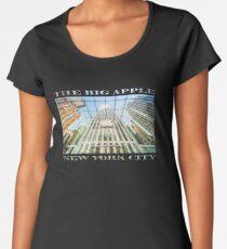 Big Apple in the Big Apple Premium Scoop T-Shirt