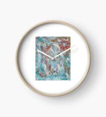 Diamonds and Rust Clock