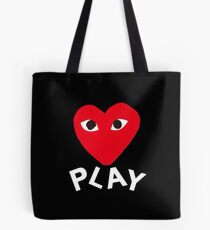 Play Red  Tote Bag