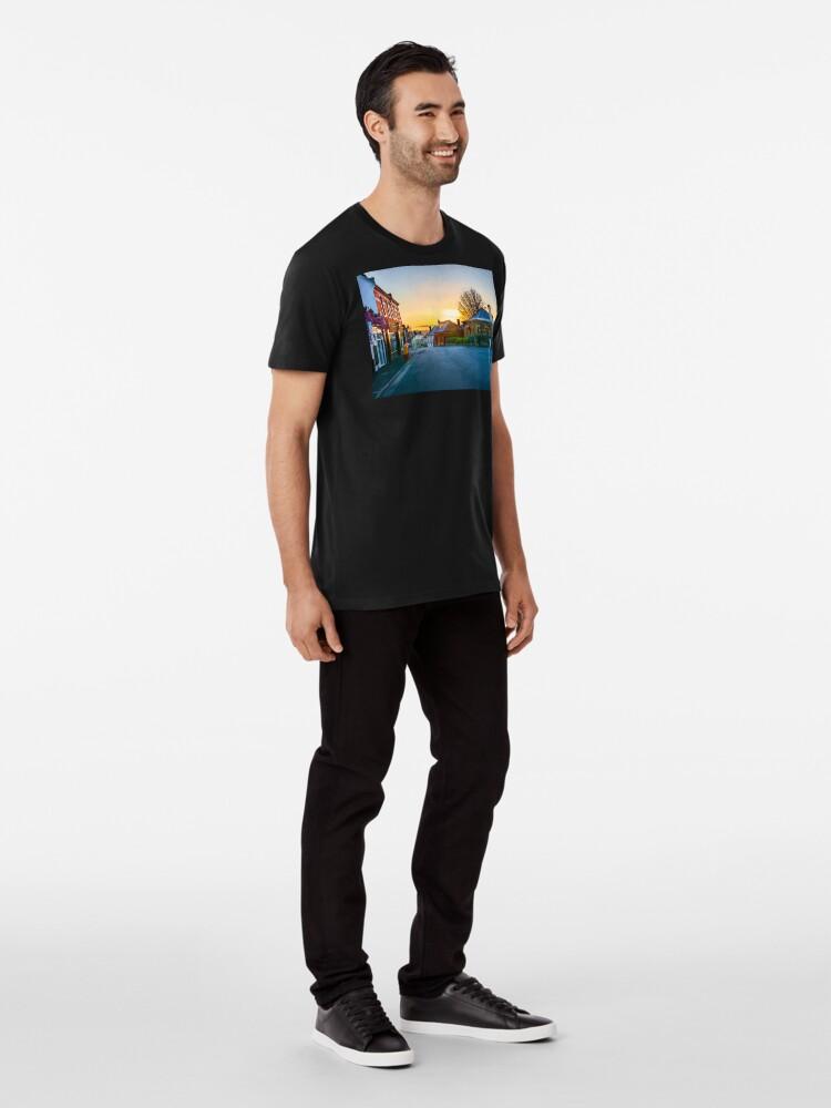 Alternate view of Sunrise at Battery Point Premium T-Shirt
