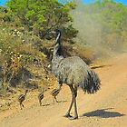 Edward the Emu and Family # 2 by Penny Smith