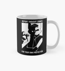 Report Thought Crimes Classic Mug