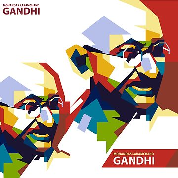 Mahatma Gandhi by bollywood-tees