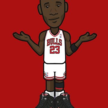 Michael Jordan 'The Shrug' by 23jd45