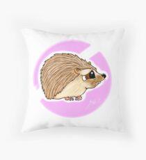 Adorable baby Hedgehog Throw Pillow