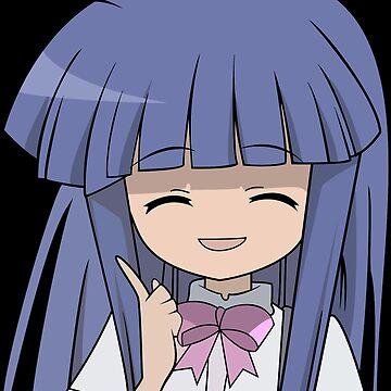 Nipah~! Rika Furude by Racheya
