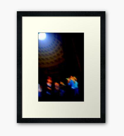 PANTHEON DANCERS Framed Print