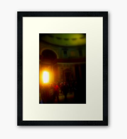 PANTHEON DREAMING Framed Print