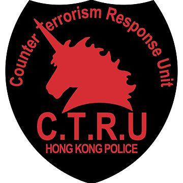 Hong Kong CTRU Emblem by fareast