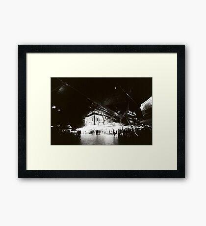 QUEEN STREET MALL 0300AM Framed Print