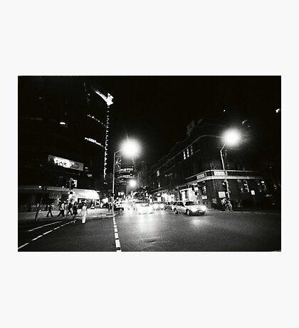 EDWARD & CHARLOTTE STREETS, 0315AM Photographic Print