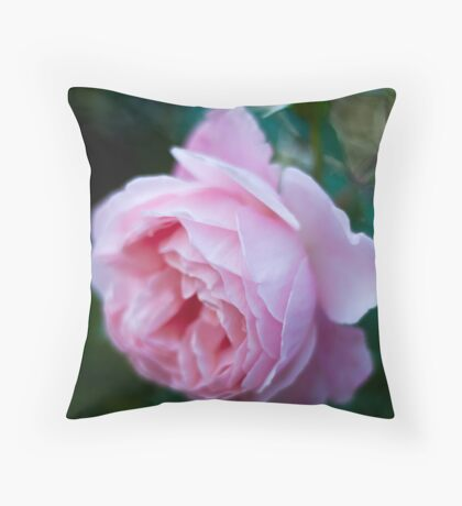 Rose Without Filters Throw Pillow