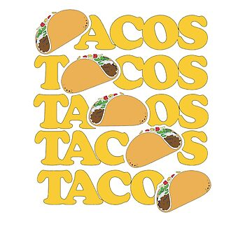 I Love Tacos Taco Is Live Taco Tuesday by hangene92