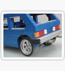 lego VW Rabbit Sticker