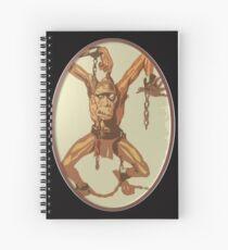Shackled Prisoner Spiral Notebook