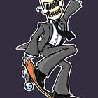 Skeleton Skateboard Business by etourist